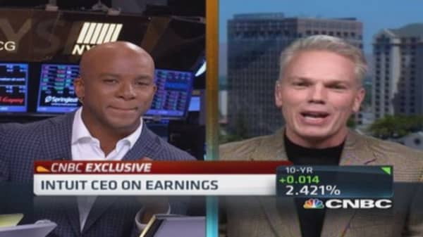 Intuit CEO: Accelerating into cloud