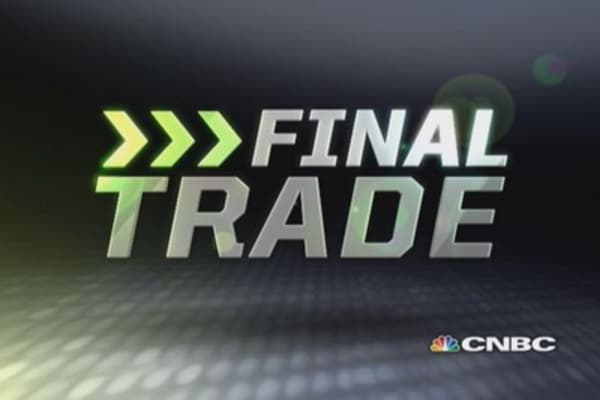 Fast Money Final Trade: AIG & more