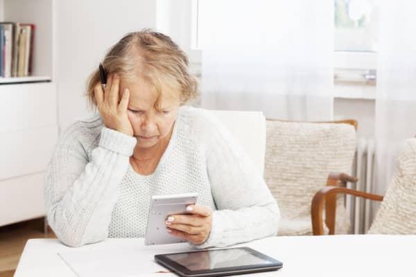 Mature women personal finance retirement