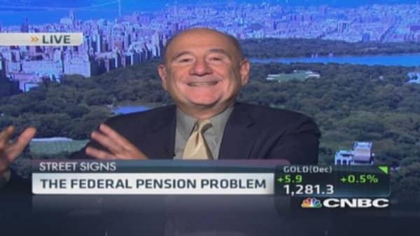Federal pension problem