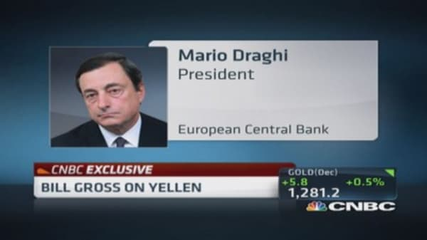 Bill Gross: What Draghi can do...