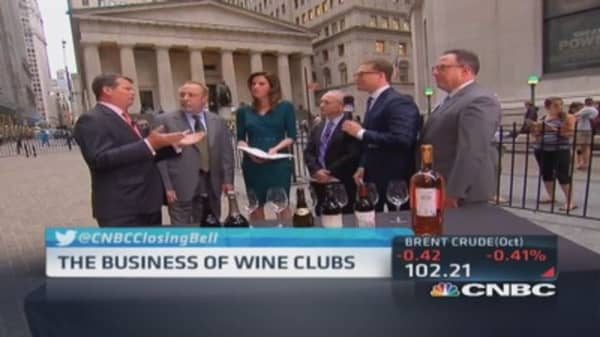Cheers! Investing in wine