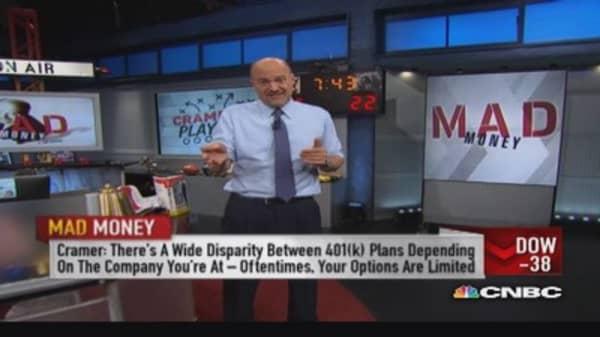 Cramer: Good, bad & ugly of 401(k)s