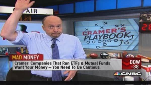 Cramer: What's so bad about most mutual funds