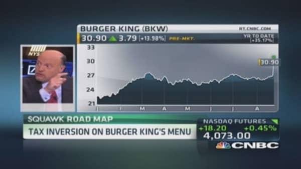 Cramer: Burger King & Tim Hortons need each other