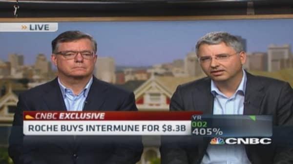 Roche CEO: InterMune perfect strategic fit