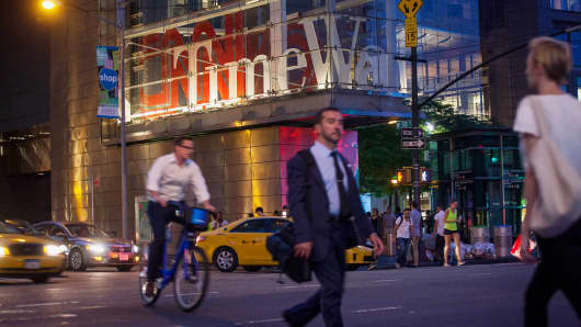 Time Warner Inc. Time Warner Center CNN