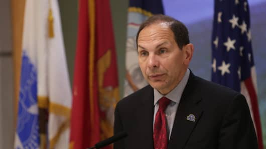 Secretary of Veterans Affairs Robert McDonald.