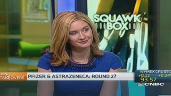 Pfizer and Astrazeneca: Round 2?