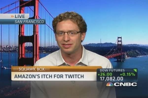 Amazon's itch for Twitch