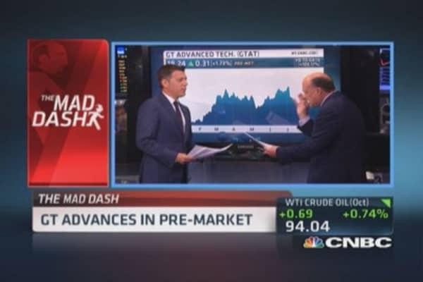 Cramer's Mad Dash: DSW underrated