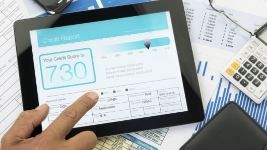 credit report score personal finance