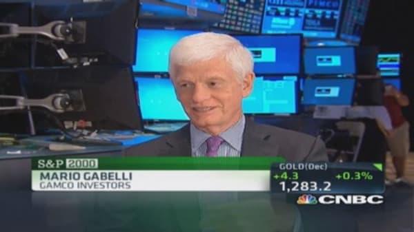 Mario Gabelli's stock picks: CHMT, WFT & DBD