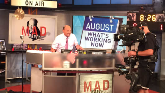 Cramer on mad money set