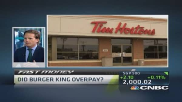 Did BK overpay?