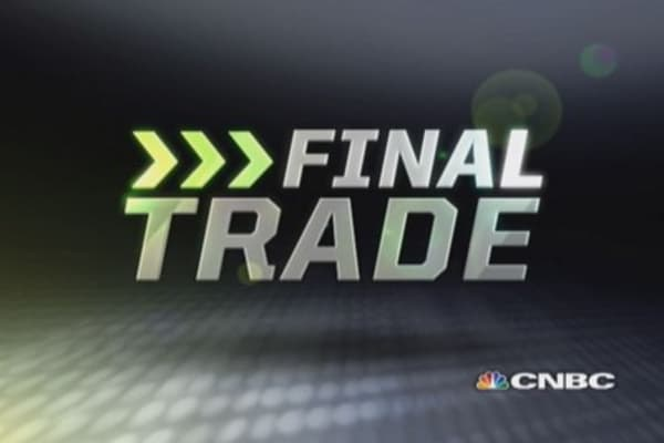 Fast Money Final Trade: S, BBY, SLV, THC