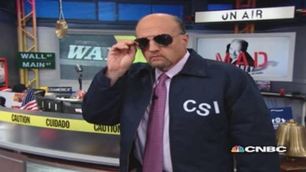 Cramer' stock investigation: DSW, SHLD, ANF, ANN