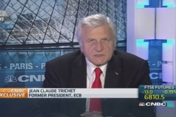 Governments can't prevent ECB actions: Trichet