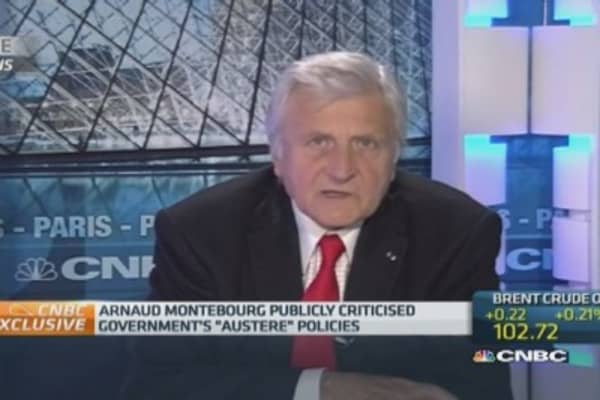French government reshuffle 'necessary': Trichet