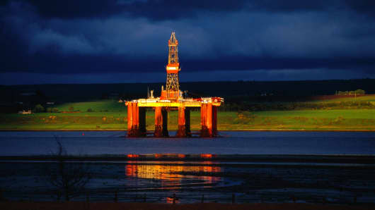 Scotland referendum north sea oil and gas Scottish independence