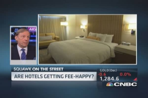 Beware of these hotel fees