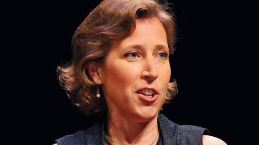 Susan Wojcick, CEO of YouTube