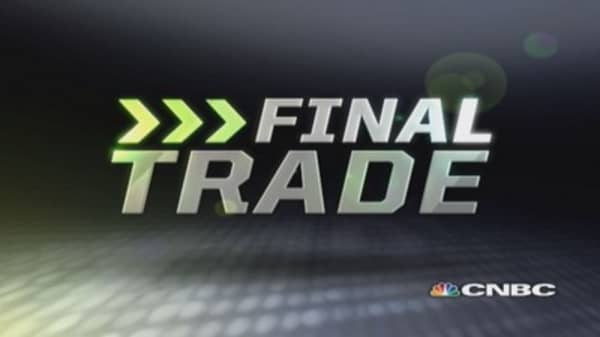 Fast Money Final Trade: PFE, GDX, DOW, WFT