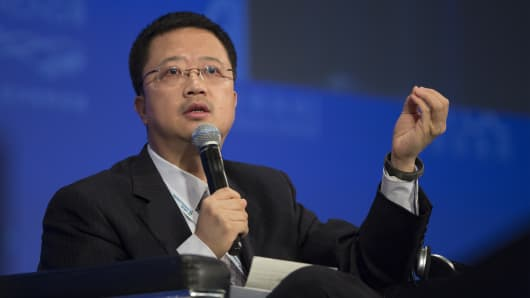 Liang Xinjun, vice chairman and chief executive officer of Fosun Internationa