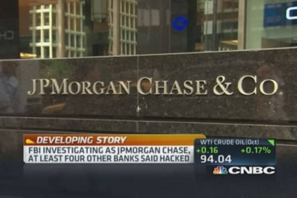 JPMorgan confirms cyberintrusion
