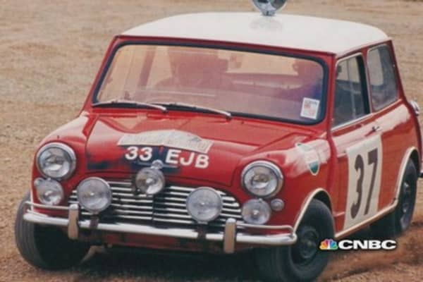 A Mini milestone: The little British icon turns 55