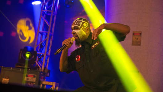 Tech N9ne In Concert in Indianapolis, IN.