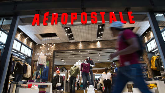 An Aeropostale store