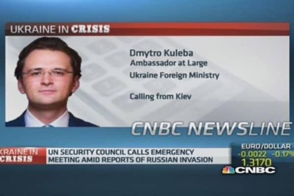 Russia wants war: Ukraine ambassador