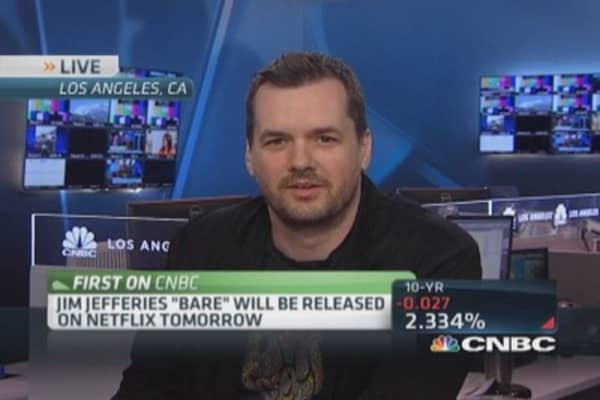 Comedian Jim Jefferies disses TV producers everywhere