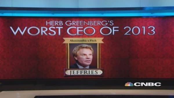 Abercrombie's Jeffries the worst CEO?