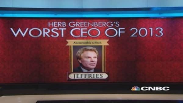 Abercrombie's Jeffries the worst CEO?