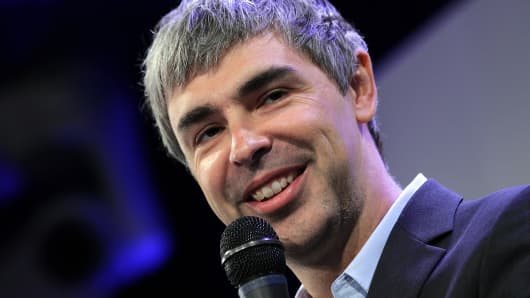 Larry Page, Google co-founder and CEO of Alphabet.