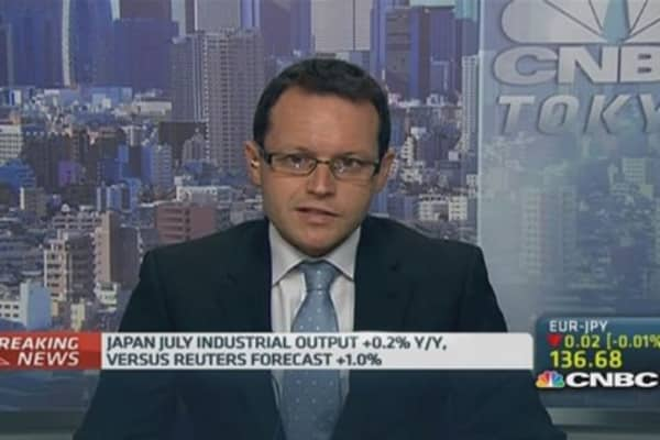 Japan July industrial output misses estimates