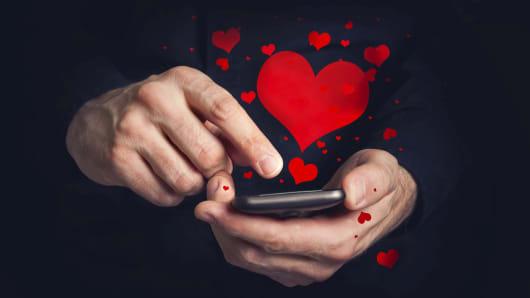 Premium phone hearts