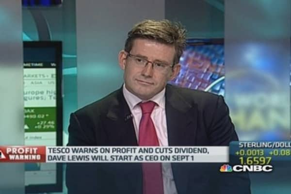 Tesco: Timing of dividend cut is 'interesting'