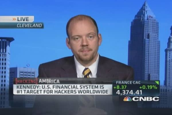 Hackers target US banks