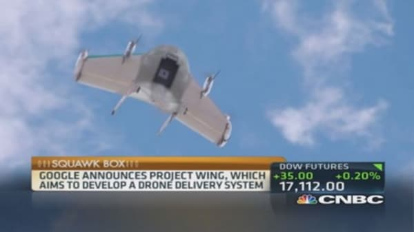 Google gets in game of drones