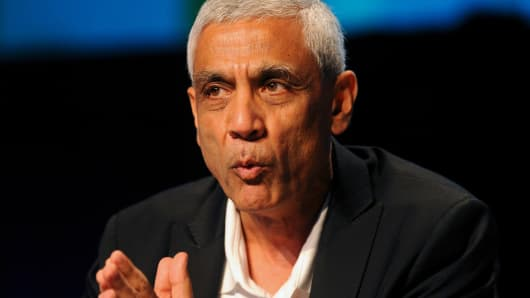 Vinod Khosla, founder of Khosla Ventures