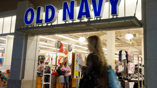Old Navy store in Broomfield, Colorado.