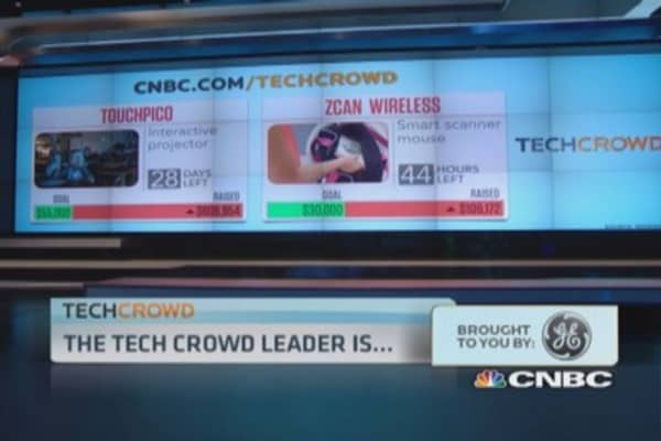Tech Crowd winner: TouchPico