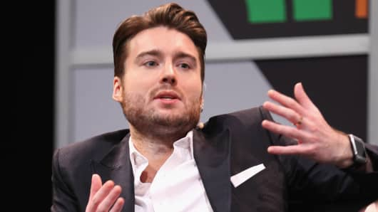 Pete Cashmore, CEO of Mashable speaks onstage at 'Generation Mash-Up: Y Bother?' during the 2014 SXSW Music, Film + Interactive Festival at Austin Convention Center on March 10, 2014 in Austin, Texas.