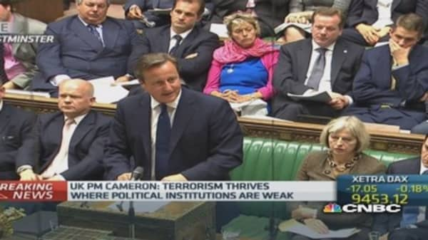 UK PM introduces new terrorism prevention plans