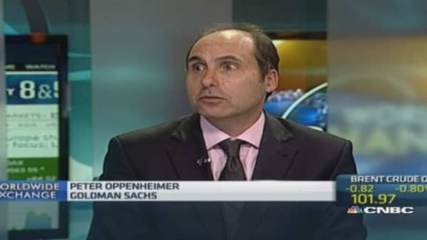 Goldman Sachs lowers euro/dollar forecast