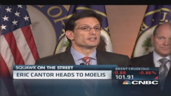 Eric Cantor heads to Wall Street