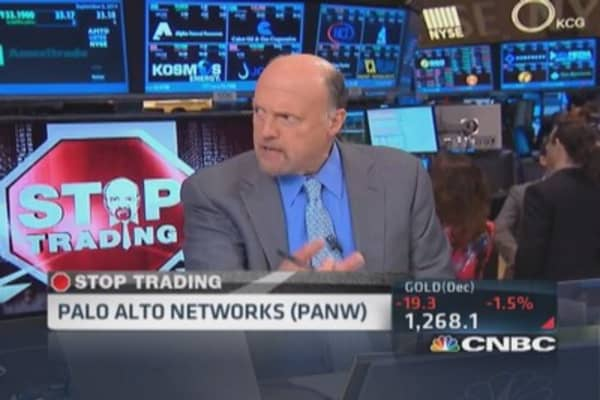 Cramer's Stop Trading: Focused on PANW